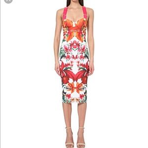 TED BAKER LONDON Jameel midi dress. Size 0